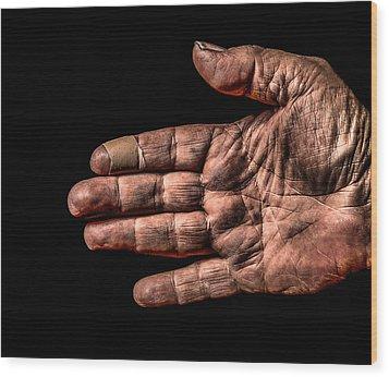 Arthritis  Wood Print