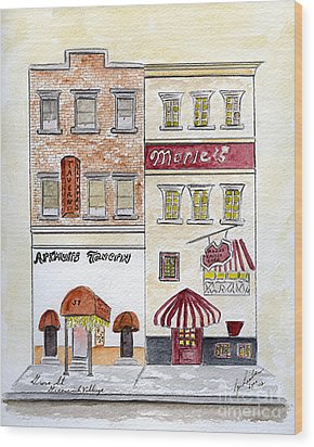 Arthur's Tavern - Greenwich Village Wood Print