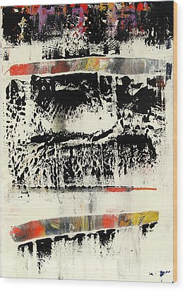 Artifact 28 Wood Print by Charlie Spear