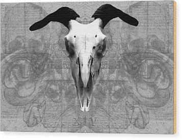 Artifactus I I Wood Print by Charles Creasy Jr