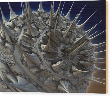 Artificial Prion Wood Print