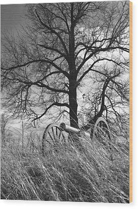 Artillery At Culp's Hill Wood Print