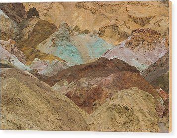 Artist's Paint Palette Abstract Wood Print by Heidi Smith