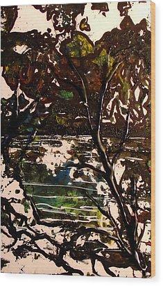 Asain Tree Wood Print