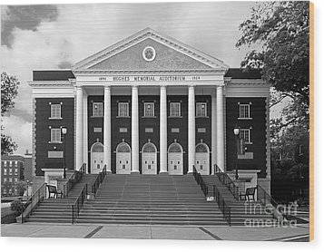 Asbury University Hughes Memorial Auditorium Wood Print by University Icons