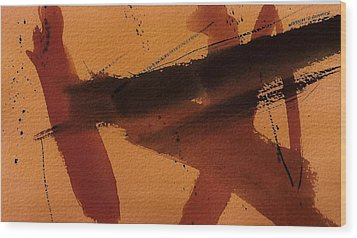 Ascension Wood Print by Richard Hinger