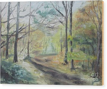 Ashridge Woods 2 Wood Print