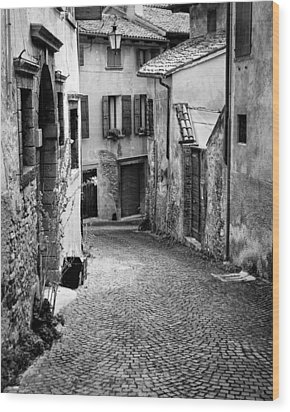 Asolo Wood Print by William Beuther