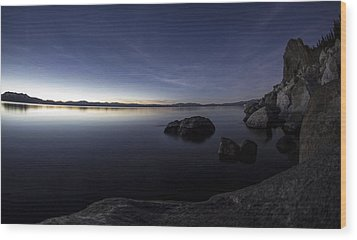 Aspen Glow Wood Print by Brad Scott