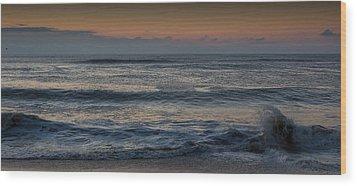 Assateague Waves Wood Print