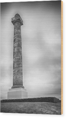 Wood Print featuring the photograph Astoria The Column by David Millenheft