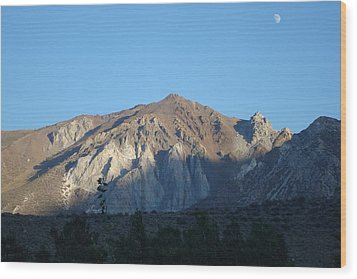 At Convict Lake Campground Wood Print
