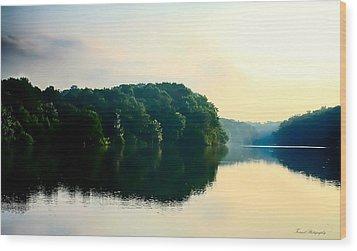 At Dawn  Wood Print by Debra Forand