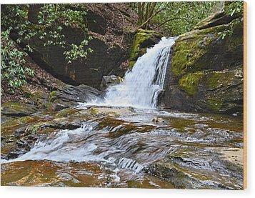 At Dodd Creek Wood Print by Susan Leggett