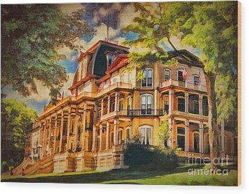Athenaeum Hotel - Chautauqua Institute Wood Print