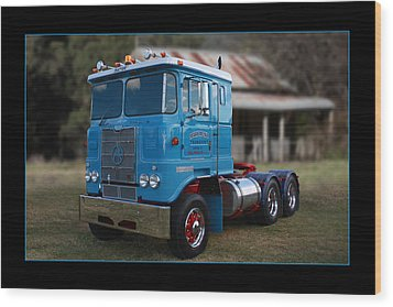 Wood Print featuring the photograph Atkinson Prime Mover by Keith Hawley