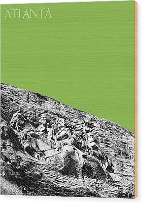 Atlanta Stone Mountain Georgia - Apple Green Wood Print by DB Artist