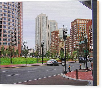 Atlantic Avenue Wood Print