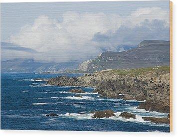 Atlantic Coast Achill Island Wood Print