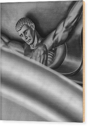 Atlas Wood Print by Gary Warnimont