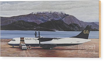 Atr 72 - Arctic Bay Wood Print