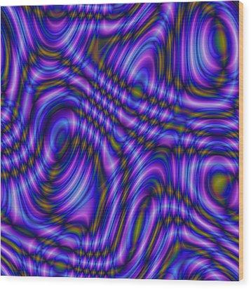 Atracareis Wood Print by Jeff Iverson