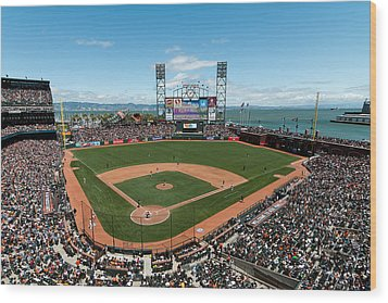Att Park On Mothers Day Wood Print