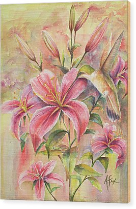 Attractive Fragrance Wood Print