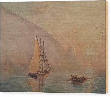 Au-dag After I. K. Aivazovsky Wood Print