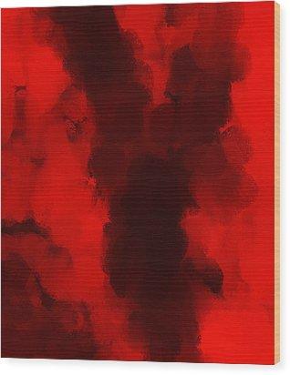 Auction M B M 177 Wood Print by Sir Josef - Social Critic -  Maha Art