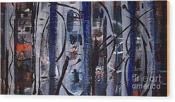 Audacity Wood Print by Yul Olaivar