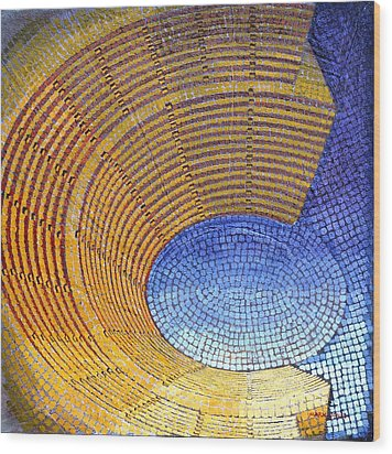 Auditorium Wood Print by Mark Jones