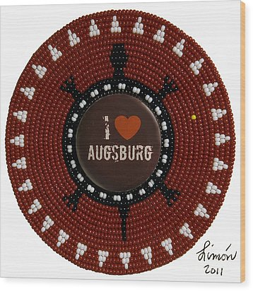 Augsburg 2011 Wood Print
