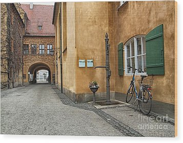Wood Print featuring the photograph Augsburg Germany by Paul Fearn