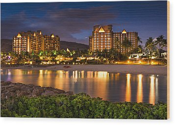 Aulani Disney Resort At Ko Olina Wood Print
