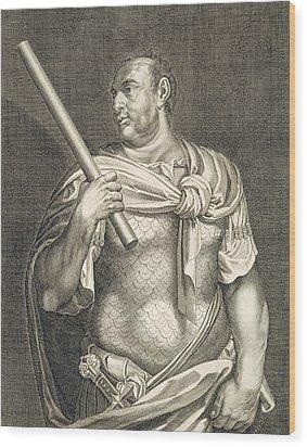 Aullus Vitellius Emperor Of Rome Wood Print by Titian