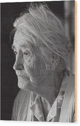 Aunt Mollie Wood Print