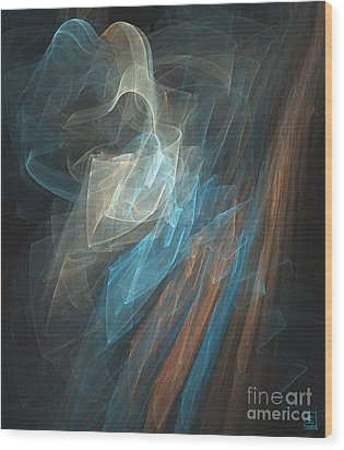 Aurora 1 Wood Print by Jeanne Liander