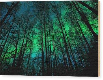 Aurora Tija Wood Print by Roger Clifford