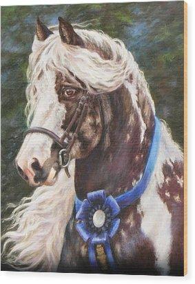 Austin Gypsy Stallion Wood Print