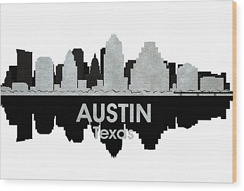 Austin Tx 4 Wood Print by Angelina Vick