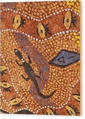 Australia Wood Print