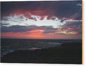 Wood Print featuring the photograph Australia Sunset by Henry Kowalski