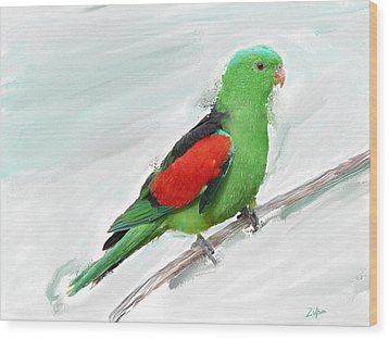 Australian Parrot Wood Print