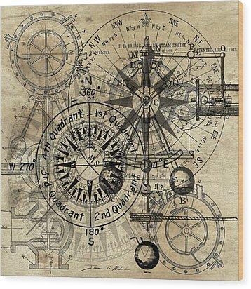Autowheel IIi Wood Print