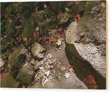 Autumn At Hallasan Wood Print by Yen