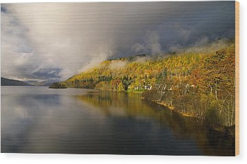 Wood Print featuring the photograph Autumn Colours  by Stephen Taylor