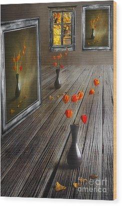 Autumn Colours Wood Print by Veikko Suikkanen