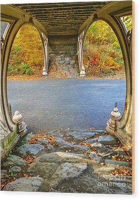 Autumn Crunch  Wood Print