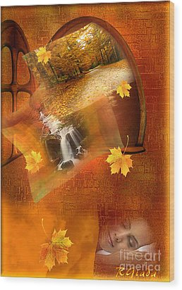 Autumn Dream Wood Print